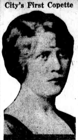 Miss Marguerite Walz, Philadelphia's first policewoman and official supervisor of the dances on the Parkway