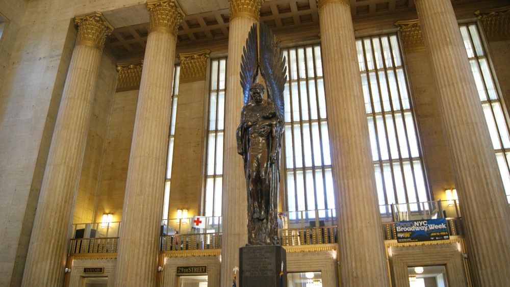 Pennsylvania Railroad War Memorial at 30th Street Station