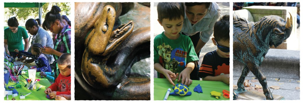 Images from the aPA's program Sculpture Zoo