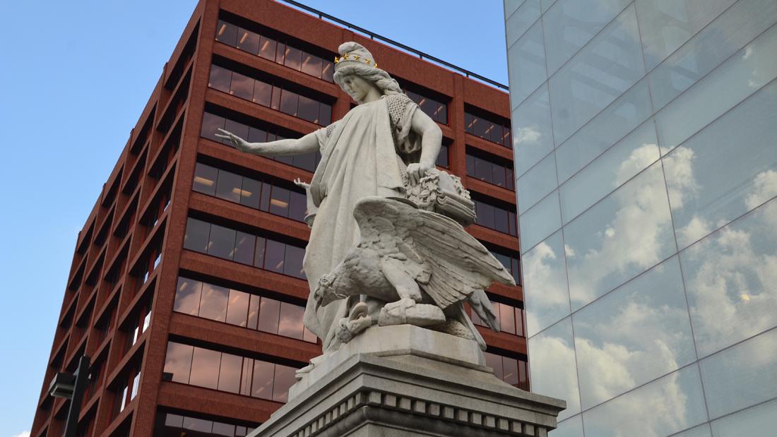 Religious Liberty sculpture